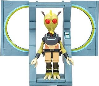 McFarlane Toys ID12851 Rick & Morty Micro Construction Set-The Discreet Assassin