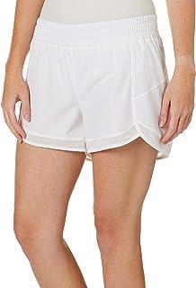 Gaiam Women's Warrior Yoga Short - Bike & Running Activewear Shorts - 3 Inch Inseam