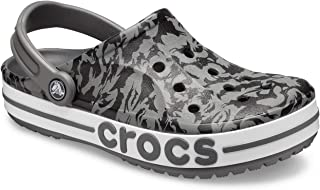 crocs Unisex Adult Slate Grey/Black Clogs-7 UK (41.5 EU) (8 US) (206232-0DY)