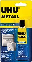 UHU Speciale lijm metalen tube, snel aantrekken, druppelvrije contact- en reparatielijm voor metaal, 30 g