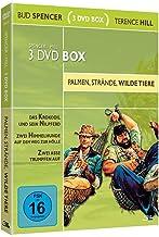 Bud Spencer & Terence Hill 3 DVD Box - Palmen, Strände, wilde Tiere [Alemania]