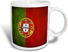 3dRose Portugal Flag Ceramic Mug, 15-Ounce