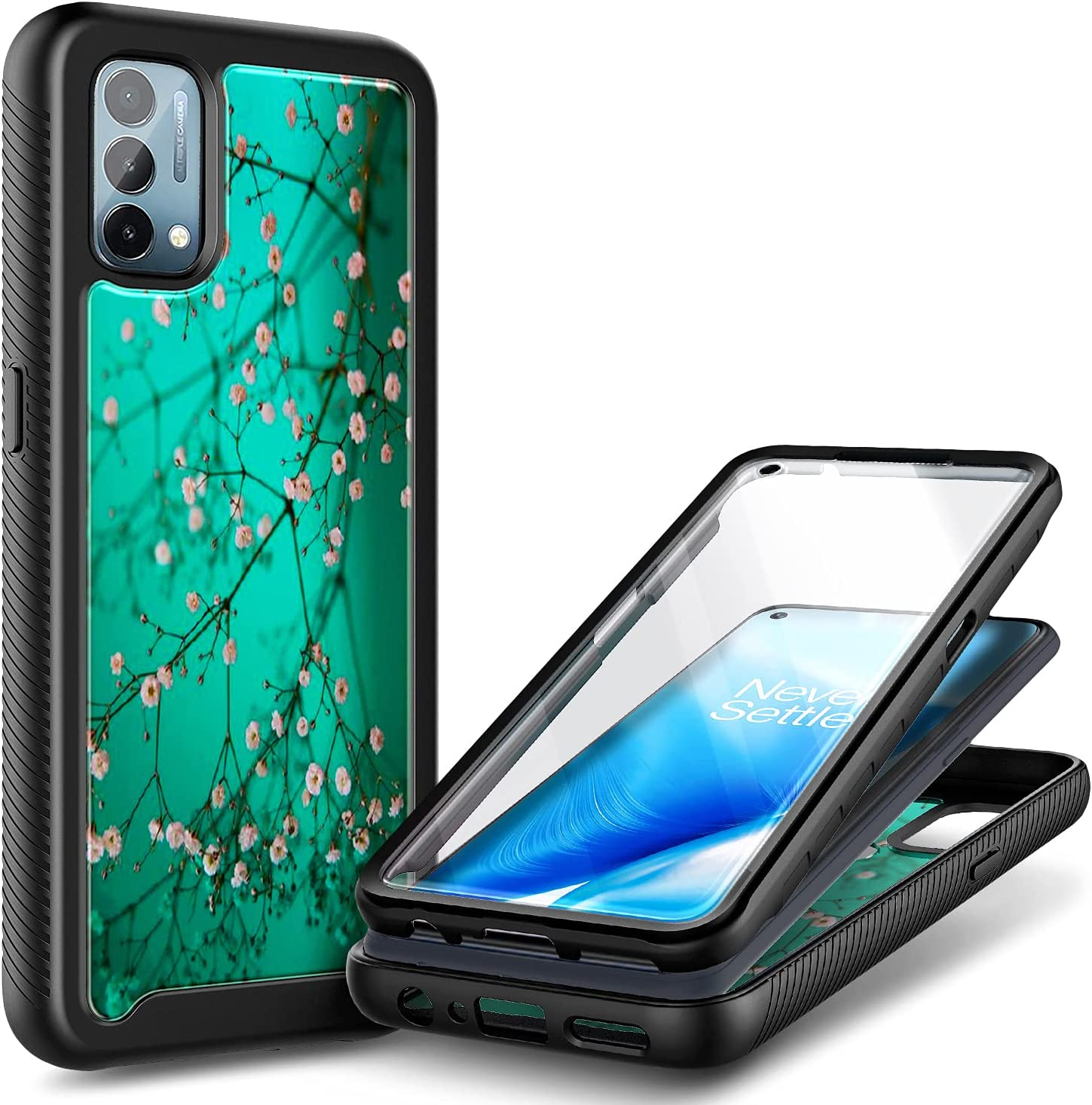 NZND Case Los Angeles Mall for OnePlus Nord N200 Screen Protect 5G with Deluxe Built-in