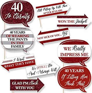 Best 40th wedding anniversary funny Reviews