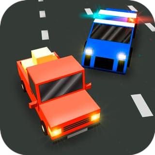 Cube Smash: Cop Chase Race