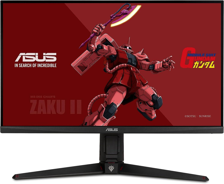 "ASUS TUF Gaming 27"" 2K HDR Monitor (VG27AQGL1A) ZAKU II Edition - WQHD (2560 x 1440), 170Hz, 1ms, IPS, G-SYNC Compatible, Extreme Low Motion Blur Sync, 130% sRGB, Eye Care, DisplayPort, HDMI, USB 3.0"