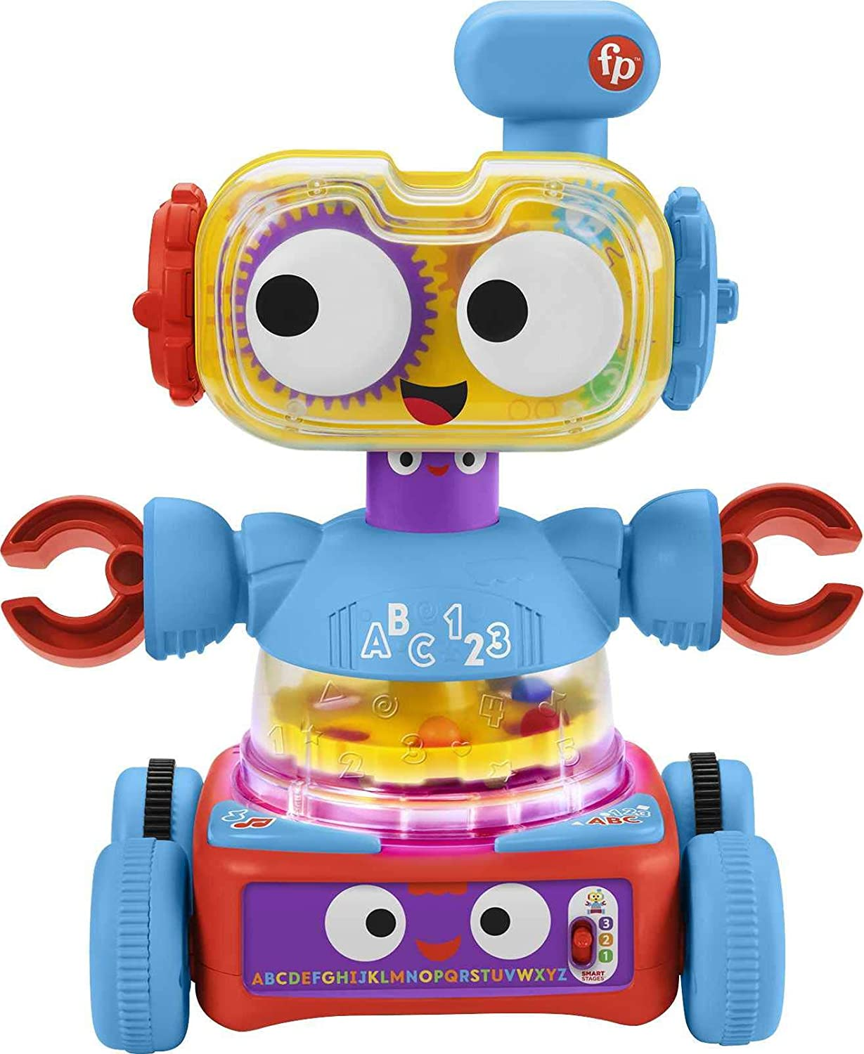 Fisher-Price 4-in-1 Ultimate Learning Bot - built up into one full interactive robot