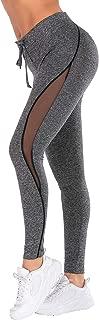 SamPing Women's Yoga Pants Workout Running Tummy Control 4 Way Stretch Leggings