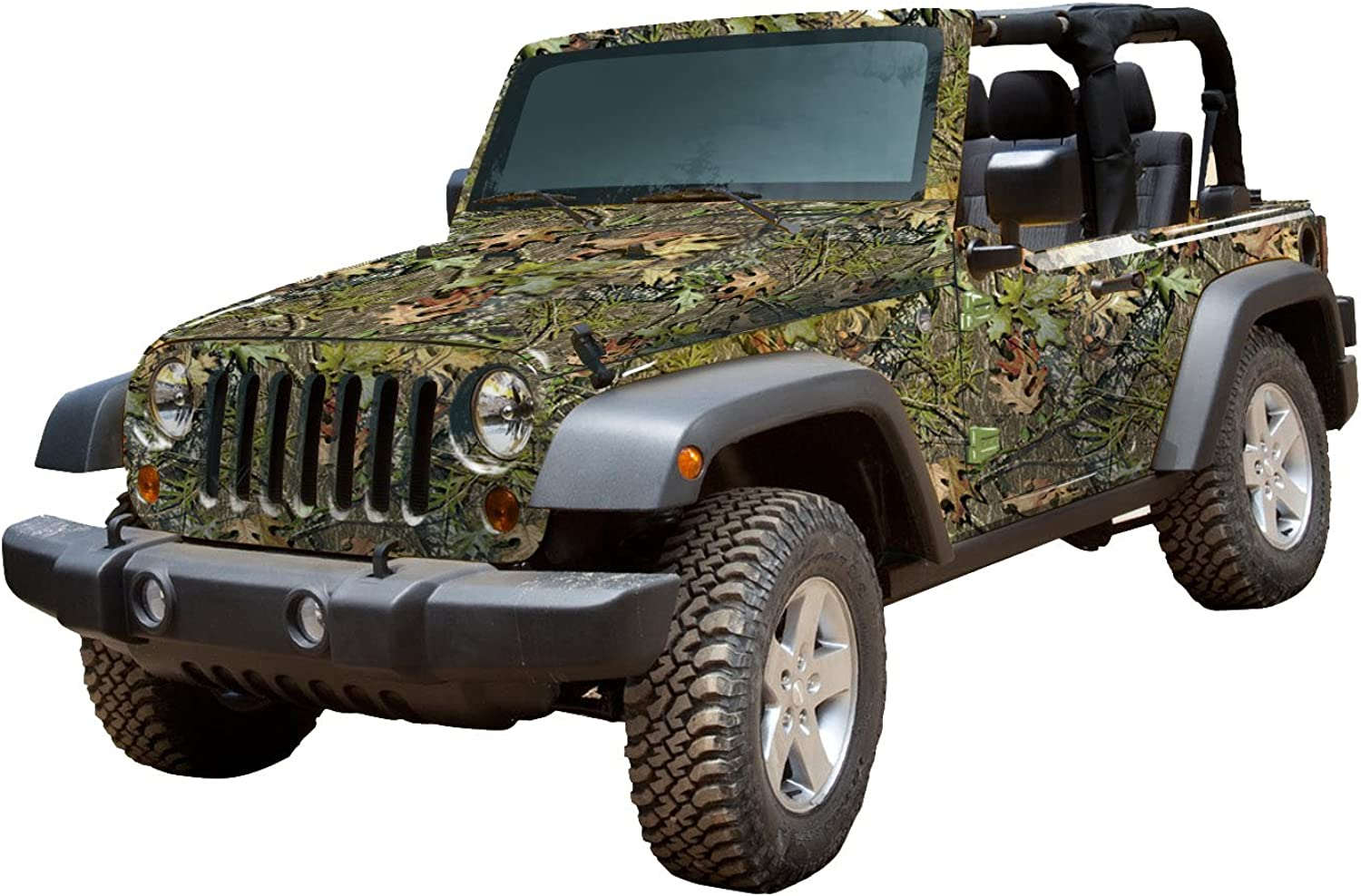 Mossy Oak Graphics 10002J2OB Obsession Full Vehicle Camouflage Kit for Jeep 2Door