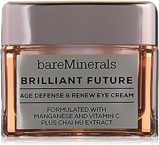 bareMinerals Brilliant Future Age Defense and Renew Eye Cream, 0.5 Ounce, clear
