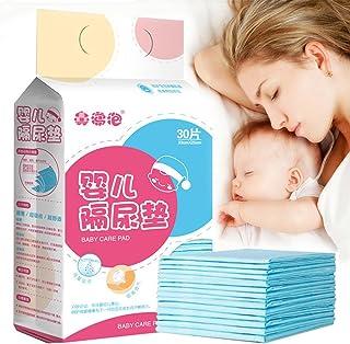 Pueri 30pcs Cambiadores Pañales Desechables para Bebés Almohadillas Absorbentes Urinales para Bebés Mantas de Cambiadores para Cunas