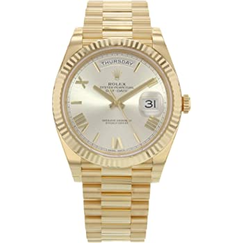 Rolex Day-Date 40 Automatic Champagne Dial 18kt Yellow Gold Mens Watch 228238CRSP