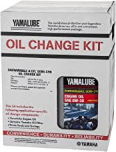 Yamaha Apex/RX-1 4-Cylinder Semi Synthetic Oil Change Kit - LUB-SMBCG-KT-11