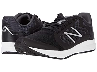 New Balance Kids 519v2 (Little Kid/Big Kid) (Black/Magnet) Boy