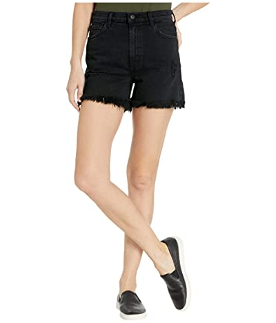 J Brand Jules High-Rise Shorts in Undercover Destruct Women