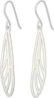 NOVICA .925 Sterling Silver Dangle Earrings, Dragonfly Wings'