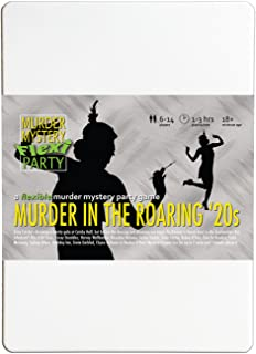 Murder Mystery Flexi Party Murder in The Roaring 20s 6-14 Player