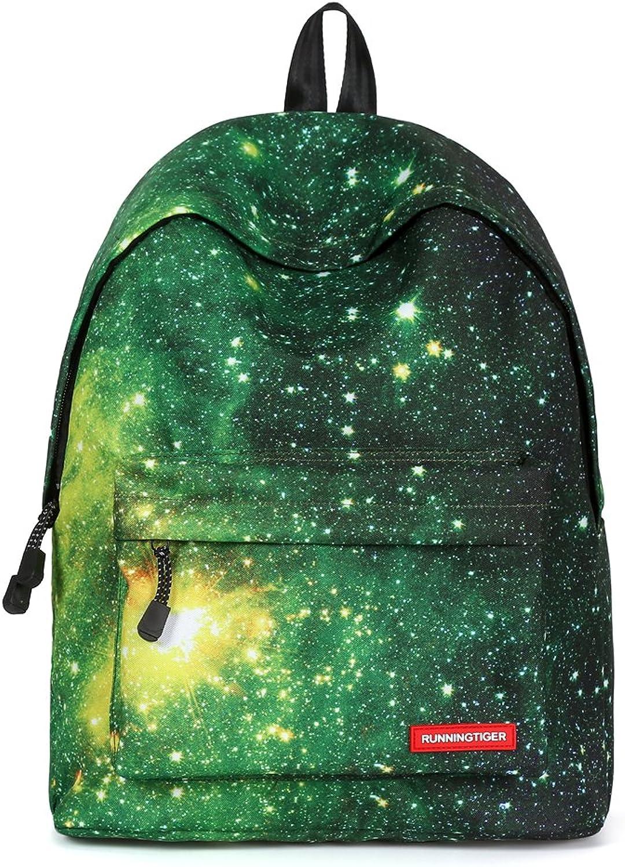 e48e8d27be67 Runningtiger Unique Starry Print Basic Multipurpose Backpacks for ...