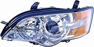 Headlight Replacement For Subaru Legacy/Outback Driver Left Side Lh 2006 2007 Headlamp Assembly