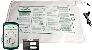 Smart Caregiver Corporation Wireless Economy Quiet Fall Alert with 20in x 30in Bed Pad and Caregiver Pager