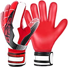 Brace Master Goalie Gloves for Youth & Adult, Goalkeeper Gloves Kids with Finger Support, Soccer Gloves for Men and Women,...