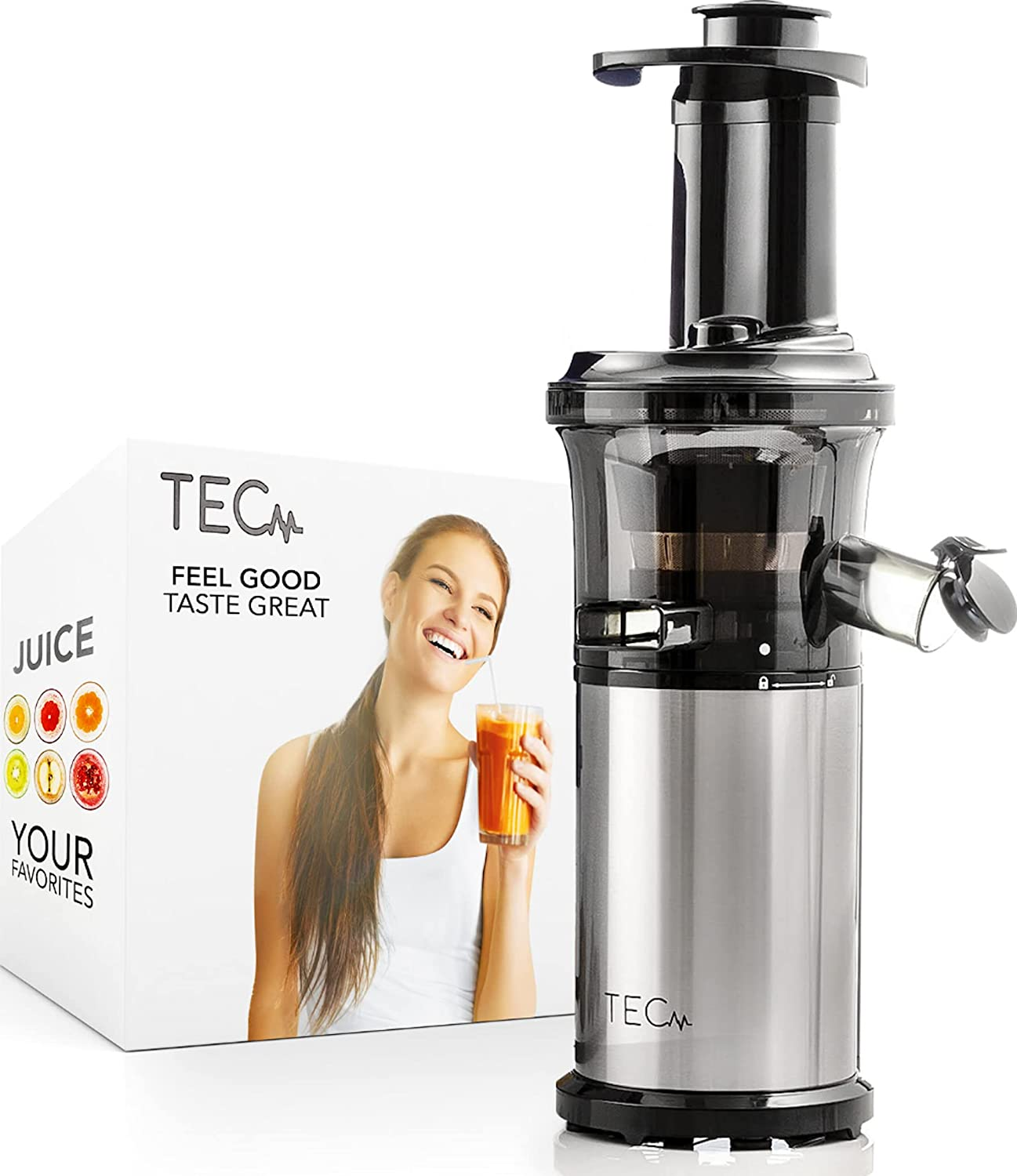 TEC Slow Masticating Award Juicer Machines and C Vegetable security Fruit Small