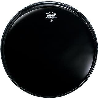 Remo ES001300 Ebony Ambassador Drum Head, 13-Inch