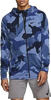 Nike Mens Dry Fleece Hoodie Full Zip Camo GFX Bv2718-427