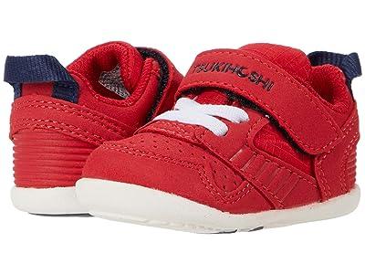 Tsukihoshi Kids B. Racer (Infant/Toddler) (Red/Navy) Boys Shoes