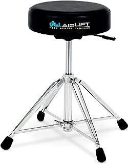 Drum Workshop CP9100AL 9000 Series Heavy Duty Air-lift Throne w/ Round Seat