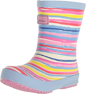 Joules Kids' Baby Welly Print Rain Boot