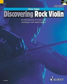DISCOVERING ROCK VIOLIN VIOLON +CD