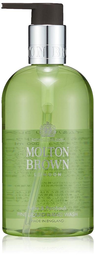 先に血ウェイターMOLTON BROWN(モルトンブラウン) ライム&パチョリ コレクション L&P ハンドウォッシュ