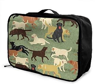 ADGAI Mandala Ethnic Oriental Image Canvas Travel Weekender Bag,Fashion Custom Lightweight Large Capacity Portable Luggage Bag,Suitcase Trolley Bag
