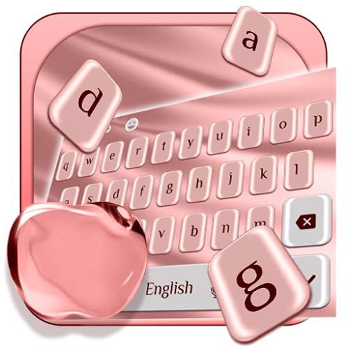 Plush Rose Apple Keyboard Theme