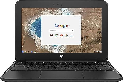 HP 1FX82UT#ABA Chromebook - 11 G5 EE 11.6 inches 1366 x 768 Intel Celeron N3060 Dual core (2 Core) 1.60 GHz 4 GB RAM 16 GB SSD 16 GB Flash Memory Chrome OS HD Graphics 400 (Renewed)