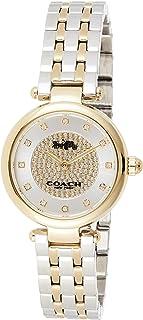 Coach Womens Quartz Wrist Watch, Gold Stainless Steel - 14503643