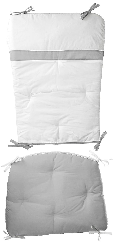 Finally popular brand Baby Doll Bedding Rocking Chair Set Cushion Grey Pad Max 41% OFF