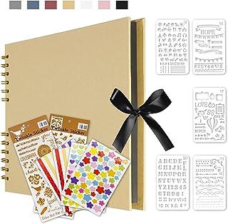 Qisiewell Album photo Kaki à personnaliser - 80 pages - Peut être utilisé comme cadeau de remise de diplôme, d'anniversair...