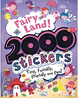 2000 Stickers Fairy Land