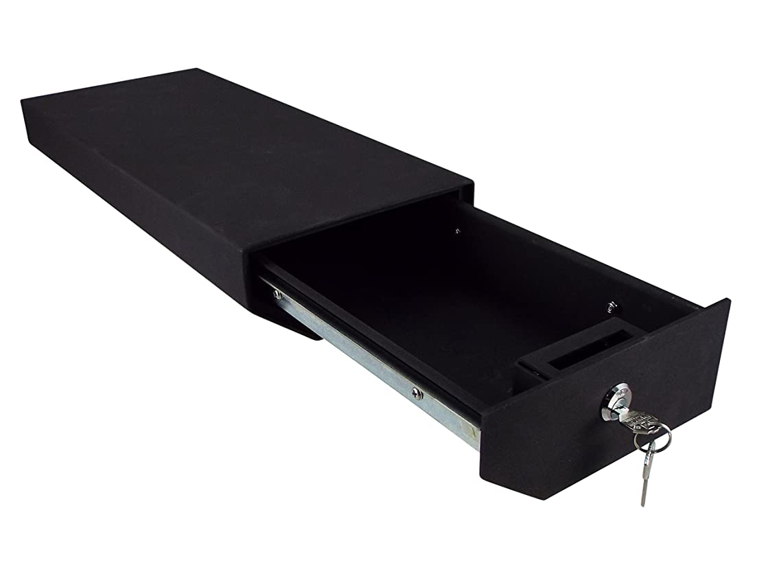 Rocket Offroad RO-JP-LK1 Black Locking Underseat Storage Box for Wrangler (Driver Side)