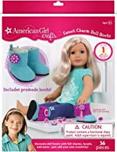 American Girl Crafts Sweet Charm Boots DIY Girls Crafts