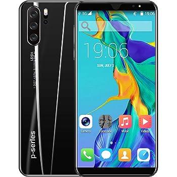 Yiwa Pantalla Frontal de 5,8 Pulgadas Cámara Frontal de 8MP P33 Plus Smartphone 4G + 64G 4000mAh Batería Ladrillo de Hielo Negro Regulaciones Europeas: Amazon.es: Electrónica