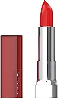Maybelline Colour Sensational Satin Lipstick - Red Revival 645, 4.2g (645 Red Revival)