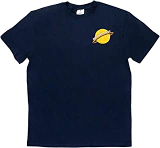 Daily Planet Logo T-Shirt Clark Kent Tee Newspaper Double Sided Mens