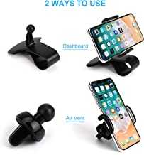 Car Phone Mount, Dashboard Car Phone Holder and Air Vent Car Phone Cradle, Strong Gel Pad Compatible iPhone Xs/XS MAX/XR/X/8/8Plus/7/7Plus, Galaxy S7/S8/S9, Google Nexus,and More by LDuc