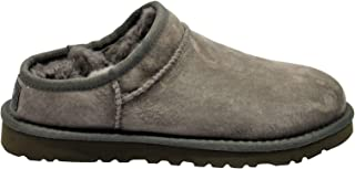 UGG Luxury Fashion Womens CLASSICSLIPPERS Grey Loafers | Fall Winter 19