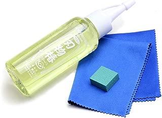 Yoshihiro TSOIL 100% Pure Tsubaki Japanese Knife Maintenance Oil With Complimentary Sabitori Rust Eraser, 3.4 oz, Large, Golden Yellow