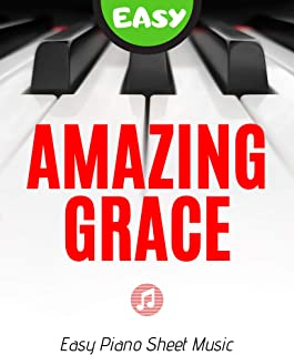 Amazing Grace - EASY Piano Sheet Music for Beginners Video T