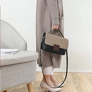 حقائب جلدية أصلية للنساء , حقائب صغيرة محمولة , حقائب كتف عصرية , حقائب رسول للنساء , رمادي